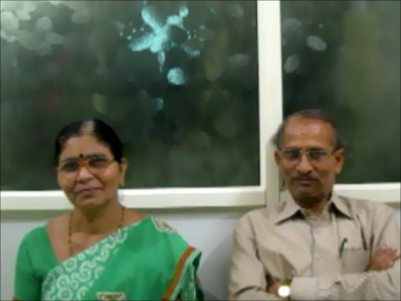Mr. Talwekar, Nagpur, husband of Mrs. Talwekar